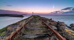 Jacksons Bay Lighthouse (Welsh Photographer) Tags: jacksons bay lighthouse barry barrybados wales welsh pentax k1 irix 15mm formatt hitech filters