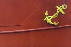 Anchor Hull, Maritiman Gothenburg (Mabry Campbell) Tags: europe gothenburg göteborg houstonphotographer scandinavia sweden anchor boat coastal detail fineartphotography hull image marine maritime photo photograph photography red f28 mabrycampbell february 2012 february282012 201202283069 200mm ¹⁄₂₅₀sec 100 ef200mmf28liiusm fav10 fav20