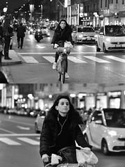 [La Mia Città][Pedala] con bikeMI (Urca) Tags: milano italia 2018 bicicletta pedalare ciclista bike bicycle nikondigitale scéta biancoenero blackandwhite bn bw 115823 bikemi bikesharing