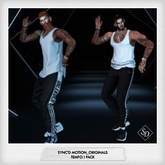 Sync'D Motion__Originals - Tempo I (Mili Miklos (Inventory Mess Blog/Mili Mix)) Tags: syncdmotion themensdepartment tmd