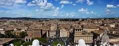 The Eternal City (Sworldguy) Tags: a73 camera italy rome sonya73 historical monument roma panoramic cityscape landscape iconic summer architecture sky view travelphotography landmark romanesque clouds