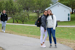 576A9019 (proctoracademy) Tags: classof2020 classof2021 curtissemily kellyjulia passingtime passingtime20182019 walktolunch walktolunch20182019