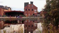051 -1crpvib1stpffwlcon (citatus) Tags: buildings main pond reflection brickworks toronto canada fall afternoon 2018 pentax k3 ii brick works