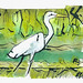 inktober egret