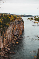 A22A5250 (kteviess) Tags: minnesota dukuth duluth lighthouse fall autumn leabes leaves red orange yellow lake superior