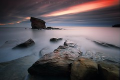 Charlies Rockery (Stu Patterson) Tags: stu patterson sunrise charlies garden seaton sluice northumberland seascape