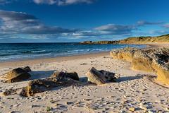 Sands (Geoff France) Tags: beach shore sea seaside rocks tide hopeman moraycoast scotland landscape scottishlandscape britishcoast coastline