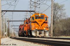 CSS 2000 @ Ogden Dunes, IN (Michael Polk) Tags: chicago south shore bend railroad emd gp382 freight train locomotive indiana ogden dunes interurban national lakeshore