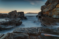 The taming DSC_7239 (BlueberryAsh) Tags: cadillaccanyon phillipisland leefilter longexposure sea rocks coast coastline australian beach water nikond750 nikon24120 seascape