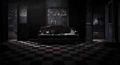 I dreamed so bad last night (Tabea Scotchdopodo) Tags: dead halloween horror room secondlife sofa tabea urbex