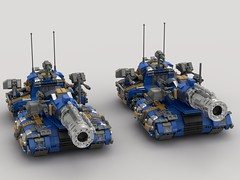 o11 hippocannon tank destroyer (V1)1 (demitriusgaouette9991) Tags: lego military army ldd armored powerful deadly cannon tank turret vehicle bombgun destroyer