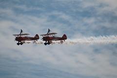IMG_9620 (FASTMOVERS103.111) Tags: wingwalkers boeing stearman biplanes biplane aeronautics aerobatics flight flying planes wings aeroplanes