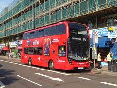 SLN 13078 - BJ15TWC - PECKHAM HIGH STREET - THUR 6TH SEPT 2018 (Bexleybus) Tags: peckham high street south east london tfl route 177 stagecoach adl dennis enviro mmc volvo hybrid 13078 bj15twc