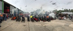 Steam panorama (BiggestWoo) Tags: steamroller roller greatest museum sandtoft trolley trolleybus bus showmen's showmen showman traction engine rally steam