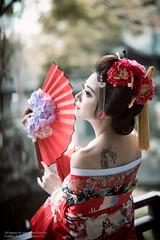 Carol (Francis.Ho) Tags: red carol xt2 fujifilm girl woman female femme lady portrait people beauty pretty lips eyes hair face chinese model elegant glamour young sensuality fashion naturallight cute goddess asian daylight sunlight outdoor ポートレート kimono 日本 yukata oiran geisha
