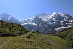 Jungfrau Massive - Switzerland (roland_tempels) Tags: supershot switzerland wengen mountains