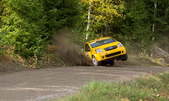 Citroen C2 (PetuPictures) Tags: citroen rally car rallycar motorsport sport sports action finland forest road gravel pentax sigma