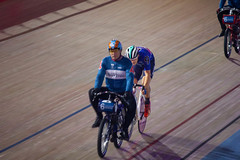 Derney Race - Chris Latham (alasdair massie) Tags: track race cyclist velodrome london6day london cycling olympic