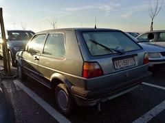 Volkswagen Golf 1.3 GL 1988 (LorenzoSSC) Tags: volkswagen golf 13 gl 3porte 1988