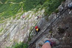 Via ferrata Franzi (majatravels) Tags: nature austria landscape mountains salzburg alps europe views rocks viaferrata klettersteig climbing risk extreme courage