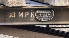 YKA 996455 (JOHN BRACE) Tags: yka 996455 built 1957 by g r turner seen during track renewal works between crawley ifield photo taken from goffs park footbridge looking towards