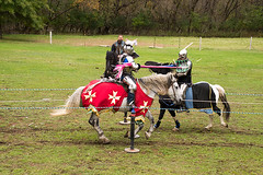 Knights of Mayhem, AM Joust (Pahz) Tags: knightsofmayhem kom knight joust jousting jouster horse lance shield charlieandrews agatheringofroguesruffians grr2018 pattysmithgrr renaissancefairephotographer renaissancefaire renfaire renfest nikond7200 tamron16300mm nikon tamron baraboowi circusworld grr