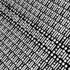 Mastermind (Jeff Heurteur) Tags: noir noiretblanc noirblanc black blanc blackandwhite blackwhite bw nb monochrome monochromie monochromy abstract abstrait roof art artistic film 35mm kodaktmax400 canon300v canon50mmf18 canon minimal minimalism minimalisme deco artdeco paris