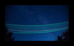 Circles In The Sky (richieb56) Tags: germany sky night himmel nacht deutschland tree star stern milkyway milchstrasse astronomie astronomy space helicopter hubschrauber heer nhi nh90 bundeswehr army german flight aviation luftfahrt long exposure langzeitbelichtung up 7829 tth heeresflieger