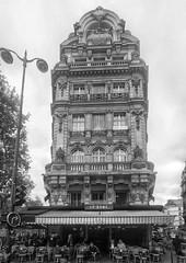 Pignon sur Rue II (marc.barrot) Tags: bw urban landscape street corner pignon prospergoubaux villiers paris 75017 france monochrome