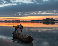 Tegeler See am Sonntagmorgen (raschmichael) Tags: morgens reinickendorf sonnenaufgang tegelersee