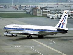 VP-WGA Boeing 707-344C of Air Zimbabwe (johnyates2011) Tags: londongatwick londongatwickairport gatwick airzimbabwe b707 boeing boeing707 vpwga