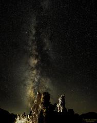 Milky Way over Tufas (Patrick Dirlam) Tags: easternsierra trips monolake moonandsky milky way tufas
