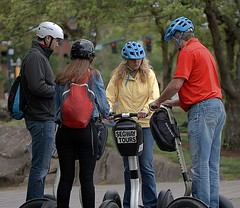 Segway Tours (Scott 97006) Tags: touring people ride helmets transport segway