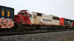 CEFX 6020, Harrison, Neenah, 20 Sept 18 (kkaf) Tags: neenah cefx soo sd60 leaser harrison a446