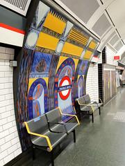 Marble Arch (R~P~M) Tags: train railway station mural art enamel vitreousenamel annabelgrey marblearch centralline london england uk unitedkingdom greatbritain