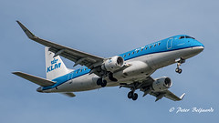 PH-EXI   Embraer ERJ-175 - KLM Cityhopper (Peter Beljaards) Tags: phexi embraer klm cityhopper ams eham schiphol approach plane jetliner aircraft nikond5500 nikon70300mmf4556 aviationphotography final msn17000578 2xcf34 landing inbound embraererj175 regional