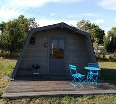 Orchard Farm Glamping Pod (shagracer) Tags: tea coffee cake room shop rushmead bradfordonavon boa farm camping site countryside rural country walk showers toilets hookups nature trail outdoors cabin camp pitch caravan tent tents family