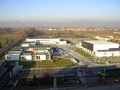 vista aerea polo scolastico