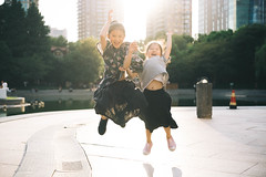 Jump! (MichelleSimonJadaJana) Tags: color sony ilce7rm3 α a7riii a7r iii full frame mmount nex voigtlander vme adaptor emount leica 35mm f14 summilux m summiluxm asph ver1 v1 vsco documentary lifestyle snaps snapshot portrait childhood children girl girls kid jada jana china 中国 shanghai 上海