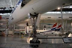 NASM_0643 Concorde F-BVFA Air France airliner (kurtsj00) Tags: nationalairandspacemuseum nasm smithsonian udvarhazy concorde fbvfa air france airliner