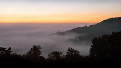 Above the Clouds (jameslf) Tags: autumn berkshire dawn fog goring lardonchase mist morning oxfordshire reading river streatley sunrise thames valley
