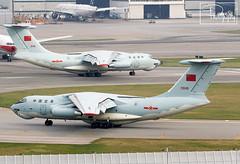 "China Air Force ~ Ilyushin IL-76MD ""21046"" (*DavE - PhotographY*) Tags: chinaairforce ilyushinil76md 21046 ilyushin ilyushinil76 il76 vhhh hkg"