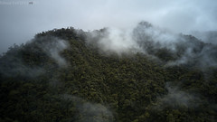 Cauca valley misty mountains (pbertner) Tags: landscape drone southamerica colombia valledelcauca