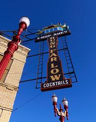 """Hung Far Low"" (coljacksg) Tags: low far hung chinese restaurant portland historic sign"