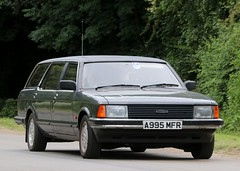 A995 MFR (Nivek.Old.Gold) Tags: 1984 ford granada 28 gl auto estate coleman milne windsor limousine