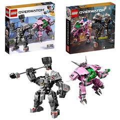 LEGO 75973 OVERWATCH D.VA & Reinhardt (LegoDad42) Tags: lego 75973 overwatch dva reinhardt