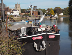 Cathja Dutch Barge (chericbaker) Tags: cathja barge isleworth dutchbarge charity