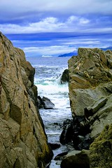 Ut mot hav -|- Ocean near (erlingsi) Tags: runde rundeisland sunnmøre sea cleft kløft kyst