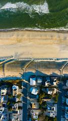 Shoreline (reclaimednj) Tags: surfcity newjersey unitedstates us longbeachisland mavic2pro ocean nj water aerialphoto oceancounty polarprond64