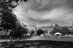 Garde républicaine. Paris, sept 2018 (Bernard Pichon) Tags: paris france fr bpi760 garde républicaine militaire fr75 cheval gendarmerie gendarme équitation
